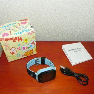 Kid Smart Watch Tracker Blue Tracker 2Way Calling
